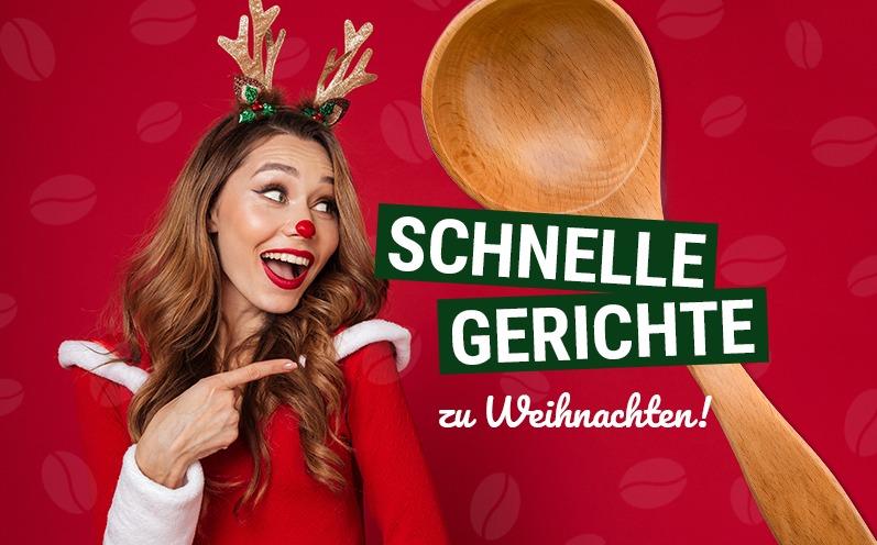 Schnelle Gerichte zu Weihnachten: Die besten Weihnachtsrezepte!