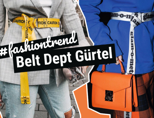 Fashion Week Trend: Statement Gürtel von Belt Dept