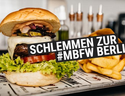 Burger schlemmen auf der #MBFW Berlin im The Butcher