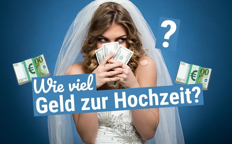 Wie viel Geld zur Hochzeit schenken?