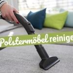 Polstermöbel reinigen: Diese Hausmittel helfen Dir dabei!