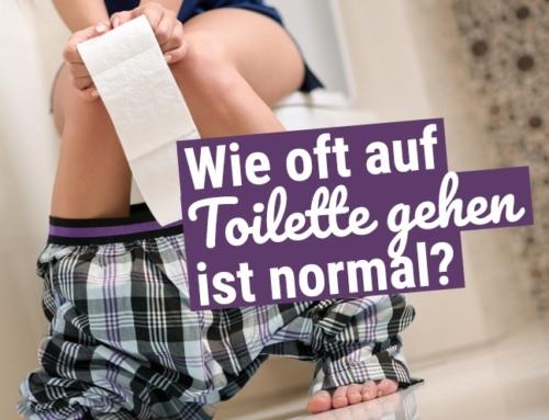 Wie oft auf Toilette gehen ist eigentlich normal?