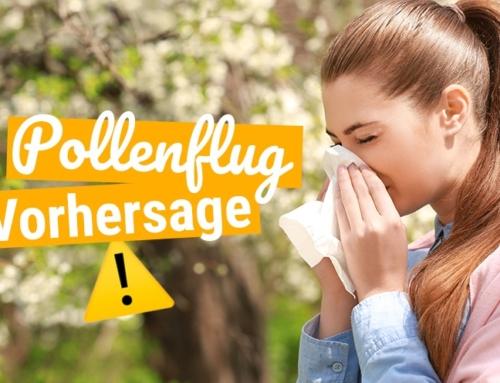 Pollenflug: Monatsübersicht für 2020