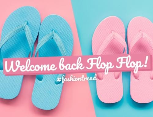 Tatsächlich: Der Flip Flop ist zurück!
