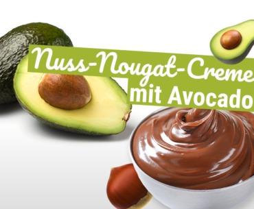 Gesunde Nuss-Nougat-Creme mit Avocado
