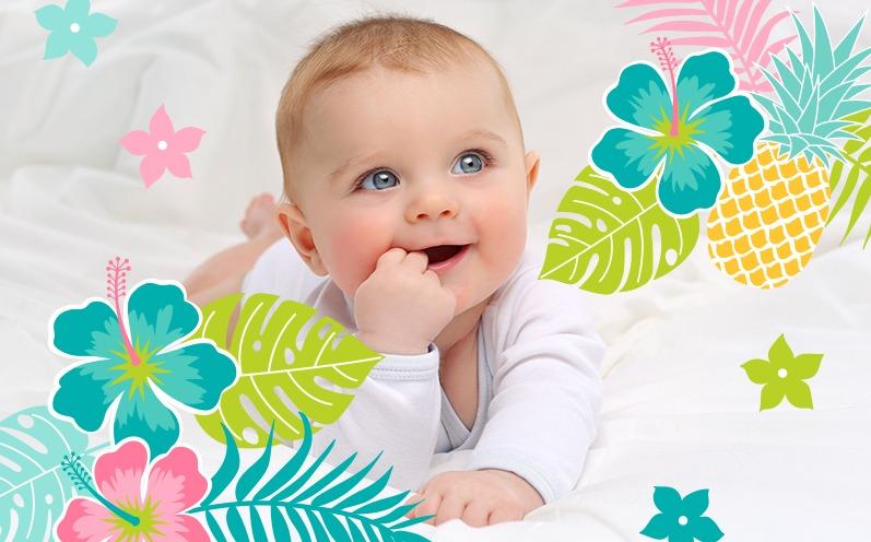 Die schönsten Babynamen aus Hawaii mit Bedeutung
