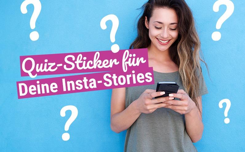 Instagram-Umfragen: Quiz-Sticker für Deine Stories