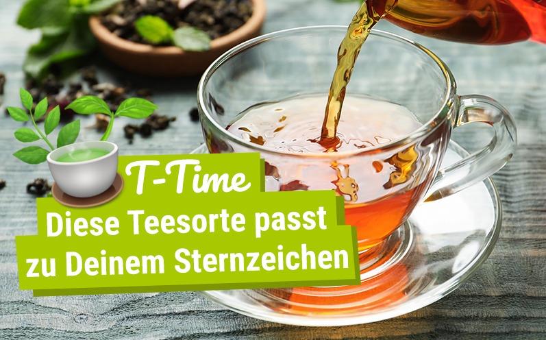 T-Time: Diese Teesorte passt zu Deinem Sternzeichen!