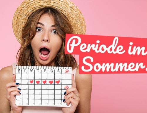 Beachte diese 5 Dinge bei Deiner Periode im Sommer!