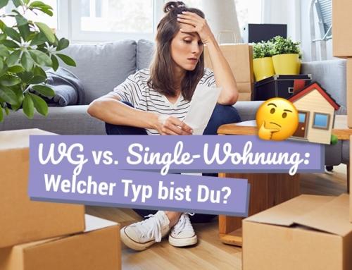 WG vs. Single-Wohnung: Welcher Typ bist Du?