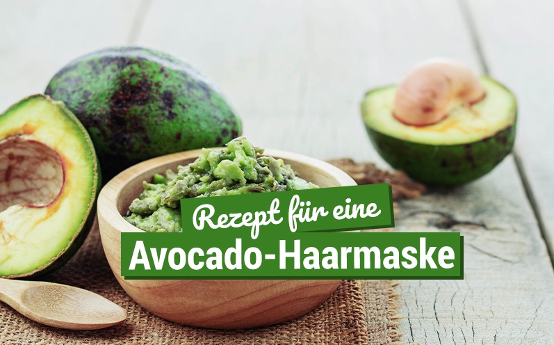 Avocado-Haarmaske