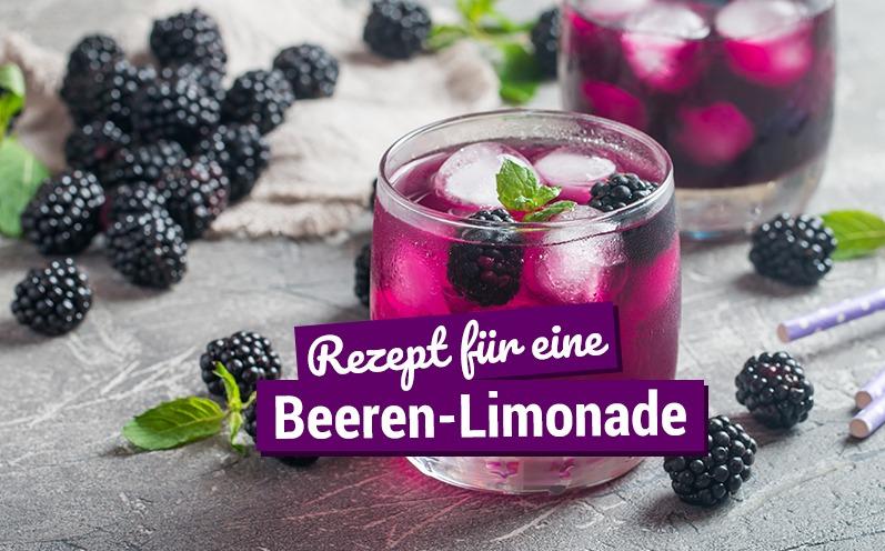 Rezept für eine Beeren-Limonade