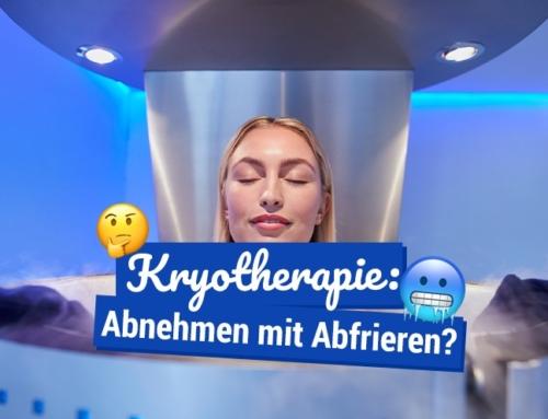 Kryotherapie: Abnehmen mit Abfrieren?