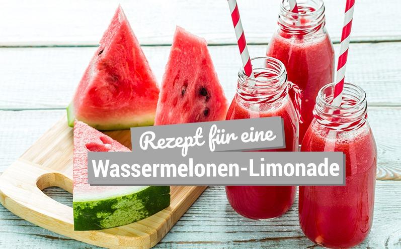 Rezept für eine Wassermelonen-Rezept