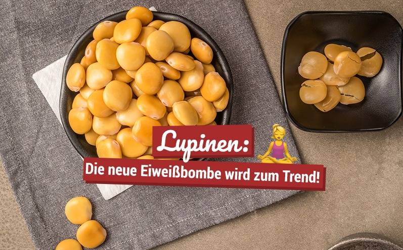 Lupinen: Die neue Eiweißbombe wird zum Trend!