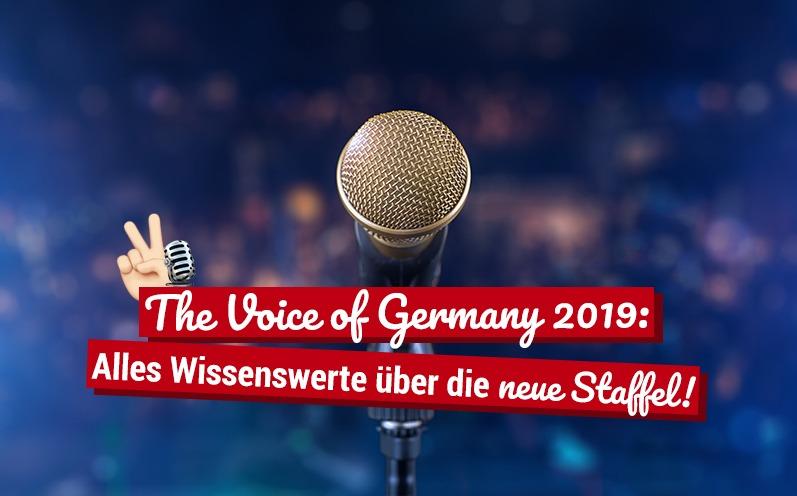 The Voice of Germany 2019: Alles Wissenswerte über die neue Staffel!