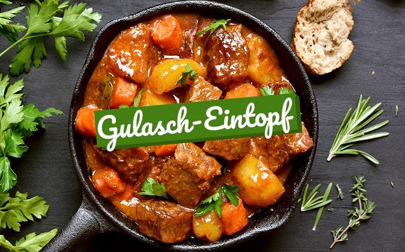 Eintopf-Rezepte: Gulasch-Eintopf