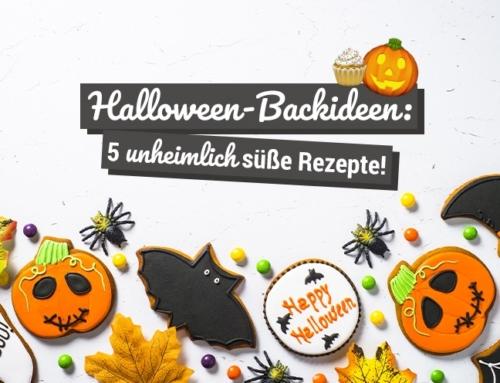Halloween-Backideen: 5 unheimlich süße Rezepte!