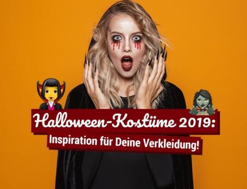 Halloween-Kostüme 2019: Inspiration für Deine Verkleidung!