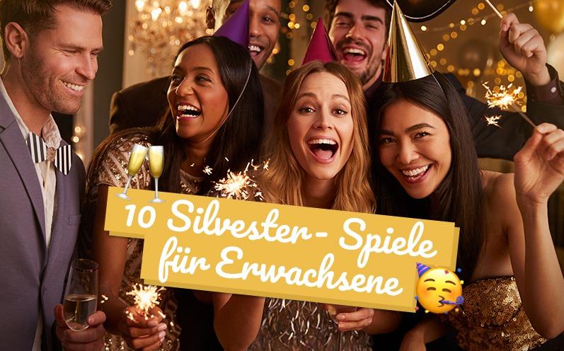10 Silvester-Spiele für Erwachsene: Gute Laune garantiert