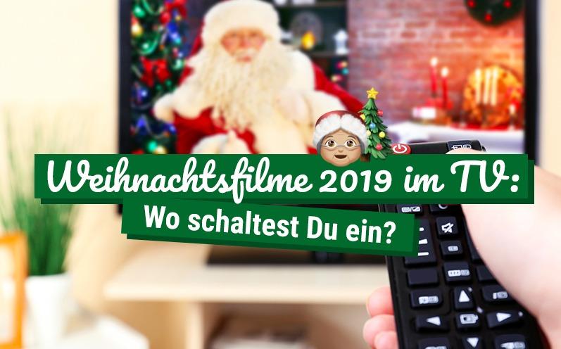 Weihnachtsfilme 2019 im TV: Wo schaltest Du ein?
