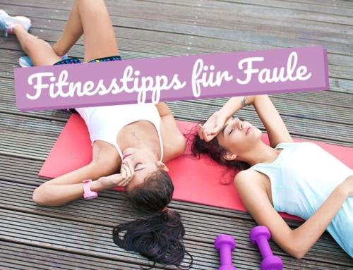 Sieben effektive Fitnesstipps für Faule