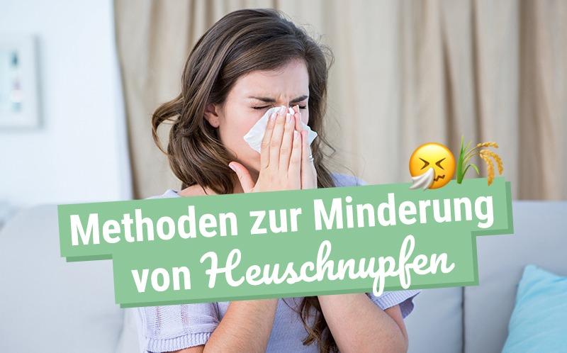 Heuschnupfen, was tun?
